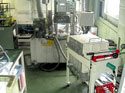 液体ホーニング研磨機とカスポンプレス