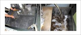 超硬水溶性ダーティタンクとクリーンタンク